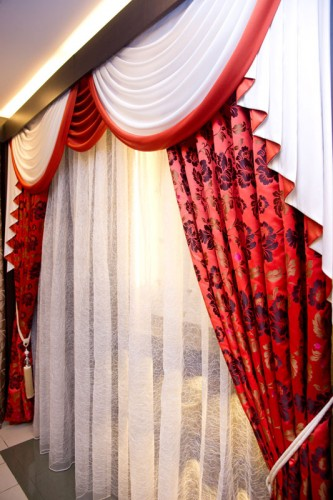 Curtains with Scallops
